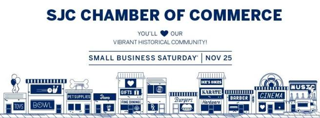 San Juan Capistrano #SmallBusinessSaturday Novmeber 25 2017