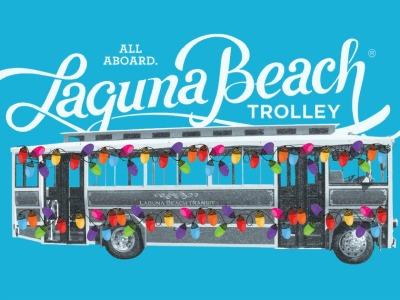 Laguna Beach Holiday Trolley