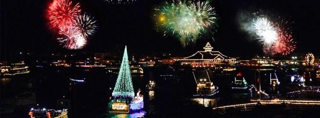 Newport Beach Christmas Boat Parade Courtesy of ChristmasBoatParade.com