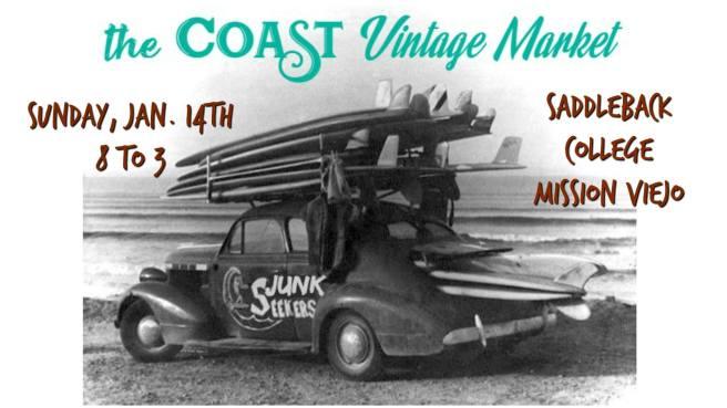 Coast Vintage Market Mission Viejo January 14 2018
