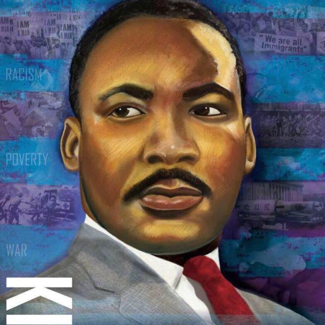 Martin Luther King Jr. Courtesy of TheKingCenter.org