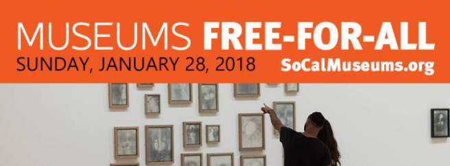 SoCalMuseums Free Day Janaury 28 2018