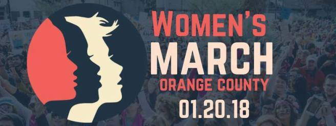 Women's March OC Janaury 20 2018