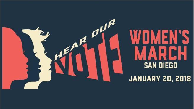 Women's March San Diego January 20 2018