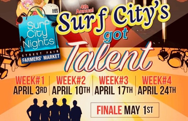 Huntington Beach Surf City Got Talent April 2018