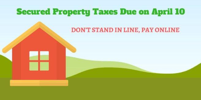 Orange County California Taxes Due April 10 2018