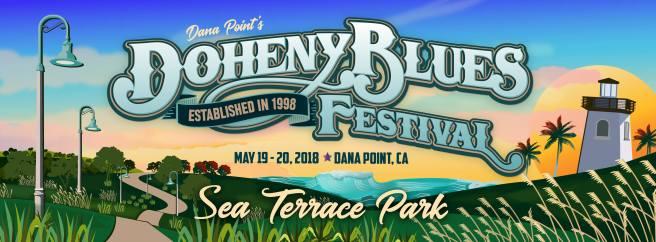 Dana Point Doheny Blues Festival May 2018 Long Logo