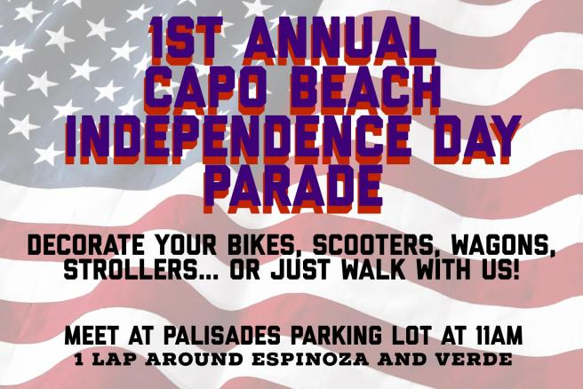 Capo Beach Independence Day Parade 2018