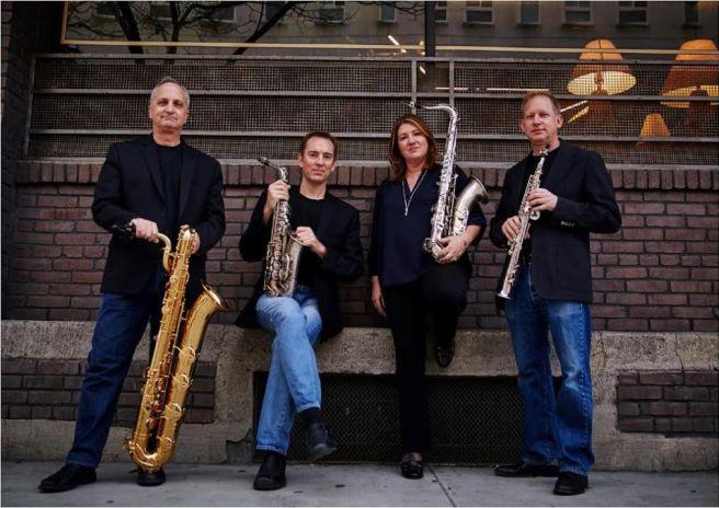 City of Angels Saxophone Quartet Courtesy of LagunaBeachLive.org