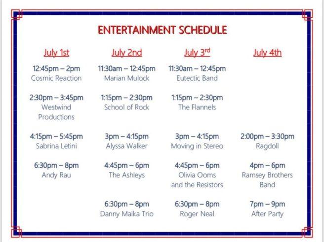 Huntington Beach 4th of July 2018 Live Entertainment