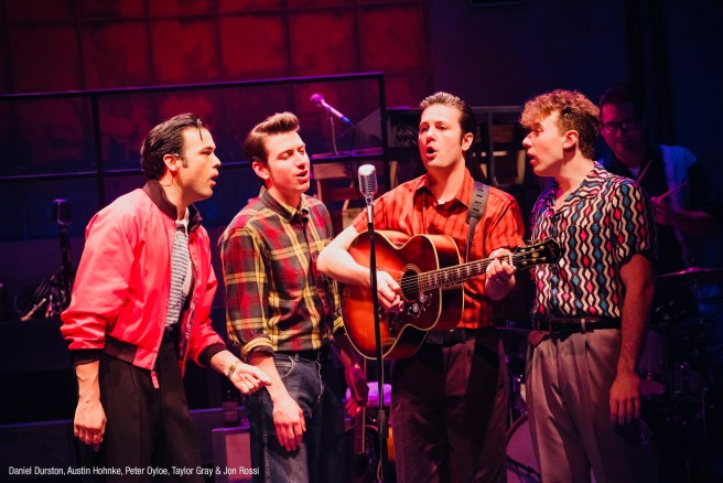 Million Dollar Quartet Courtesy of LagunaPlayhouse.com