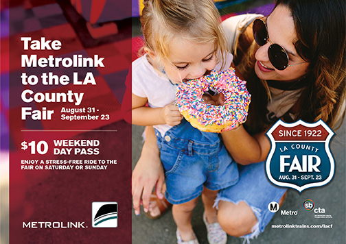 LA County Fair and MetroLink