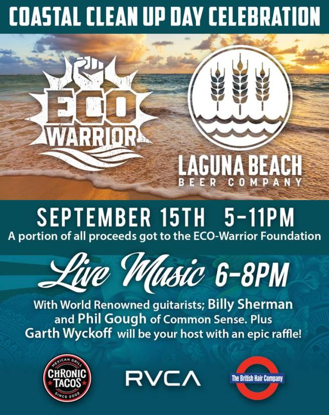 Eco Warrior Foundation Fundraiser September 15 2018