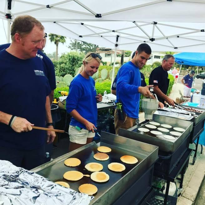 Laguna Beach Firefighters Labor Day Pancake Breakfast 2017 Courtesy of Laguna Beach Firefighters