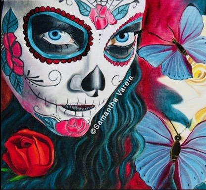 Las Laguna Gallery Day of the Dead Image Courtesy of firstthursdaysartwalk.com