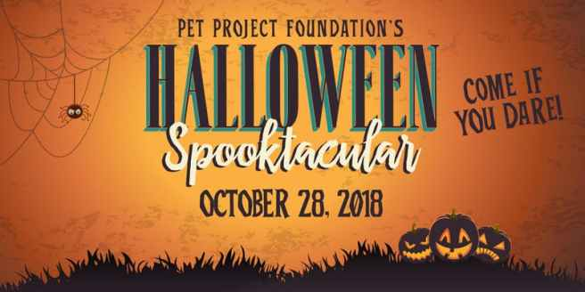 Pet Project Foundation Halloween Spooktacular Gala Sunday October 28 2018