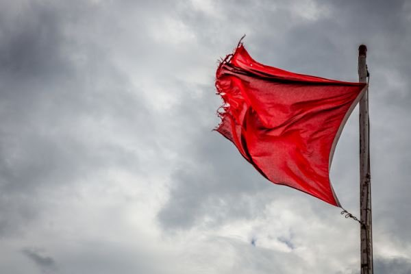 Red Flag Warning Courtesy of Laguna Beach Police Department