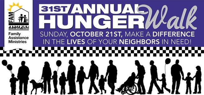 San Clemente Family Assistance Ministries Hunger Walk October 21 2018