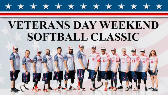 Softball Classic Mission Viejo CA Nov 10 2018 Courtesy of Wounded Warrior Amputee Softball Team