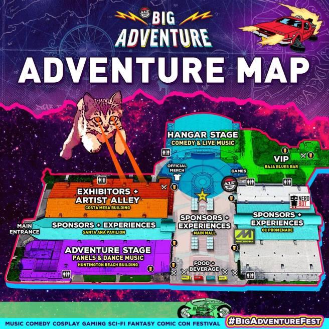OC Fairgrounds Big Adventure Map Nov 3 & 4 2018