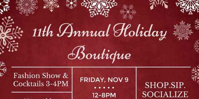 San Clemente Holiday Boutique Novemer 9 2018