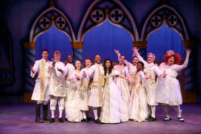 Beauty and the Beast A Christmas Rose by Cathy Cunningham Photography Courtesy of The Laguna Playhouse