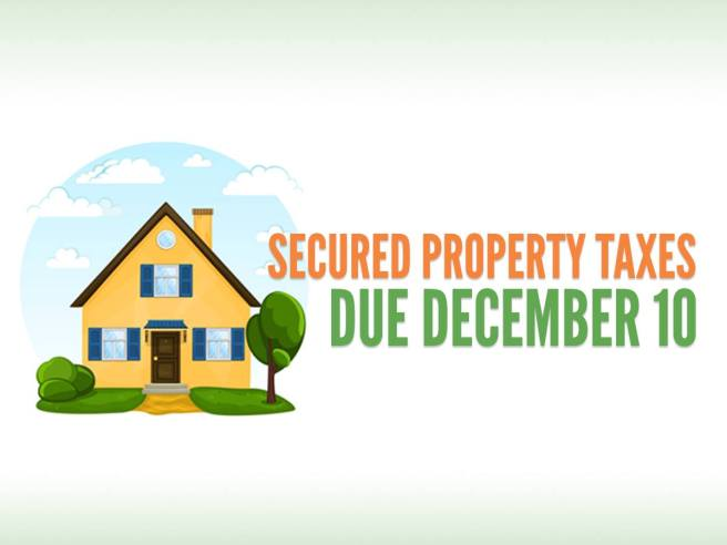 Orange County California Property Taxes Due December 10 2018