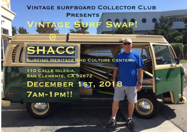Vintage Surf Swap San Clemente CA December 1 2018