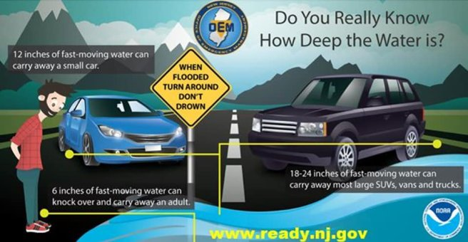 Flooding and Driving PSA