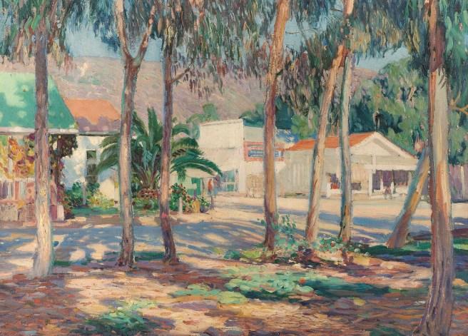 Kleitsch: The-Drug-Store Courtesy of Laguna Art Museum