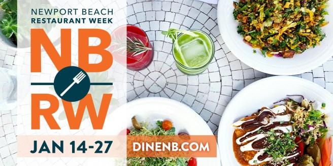 Newport Beach Restaurant Week January 14 thru January 27 2019