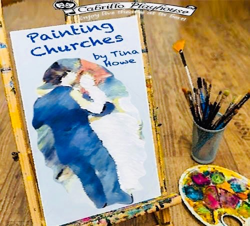 San Clemente Cabrillo Playhouse Painting Churches January 2019
