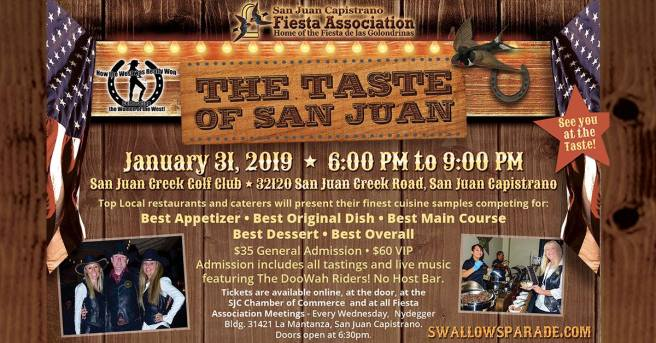 The Taste of San Juan Thursday January 31 2019