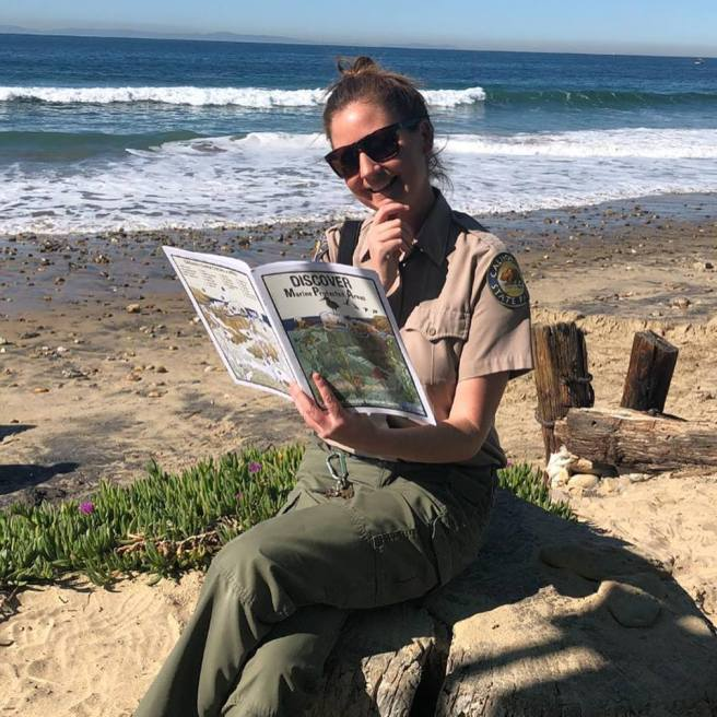 Crystal Cove Ranger Alex Beachside Chat Courtesy of CrystalCove.org