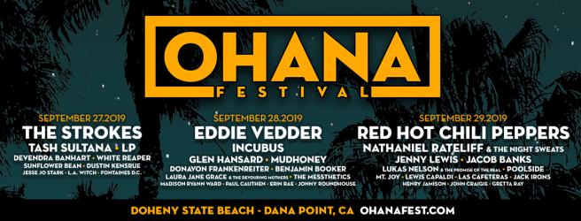 Ohana Fest September 2019 Lineup