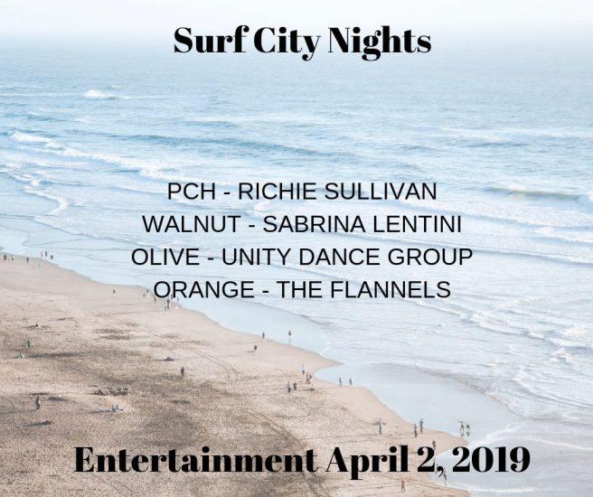 Huntington Beach Surf City Nights Entertainment April 2 2019
