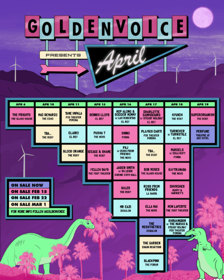 Goldenvoice Localchella April 2019