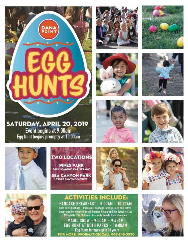 Dana Point Easter Egg Hunts Saturday April 20 2019