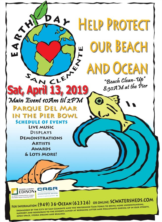 Earth Day San Clemente April 13 2019