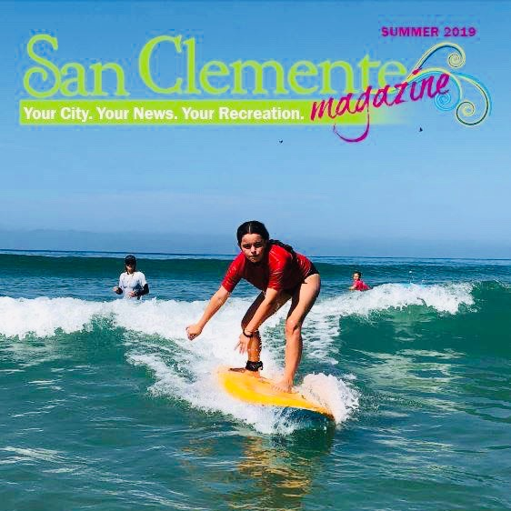San Clemente Summer 2019 Recreation Magazine Courtesy of san-clemente.org
