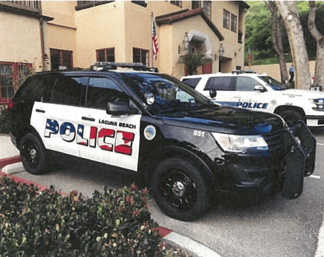 Laguna Beach Police Vehicles 2019 Logo Courtesy of LagunaBeachCity.net