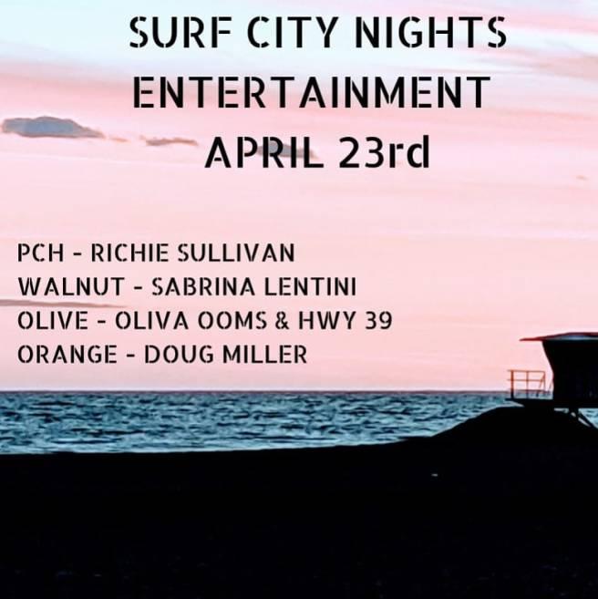 Surf City Nights Live Music April 23 2019