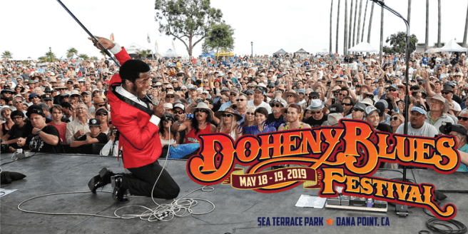 Doheny Blues Festival Logo May 2019