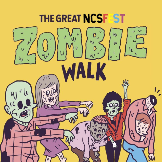 Huntignton Beach NCS Fest Zombie Walk Sunday May 19 2019