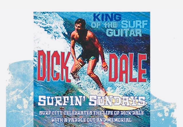 Huntington Beach Dick Dale Paddle Out Sunday May 26 2019