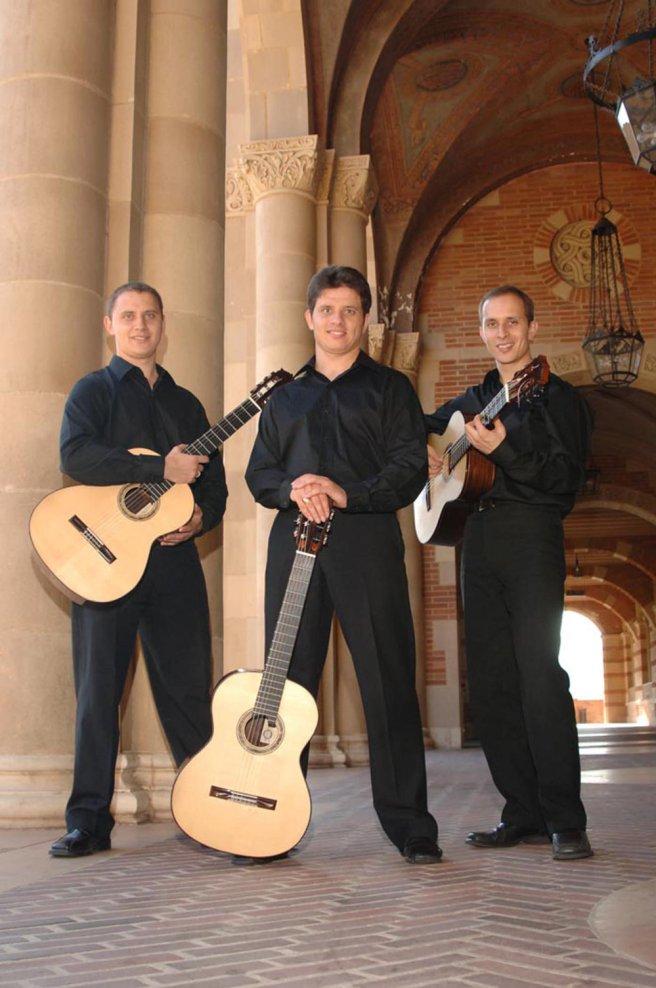 Triada Guitar Trio Courtesy of Laguna Beach Live