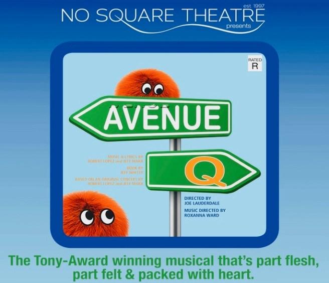 Avenue Q Play at Laguna Beach No Square Theatre May 2019