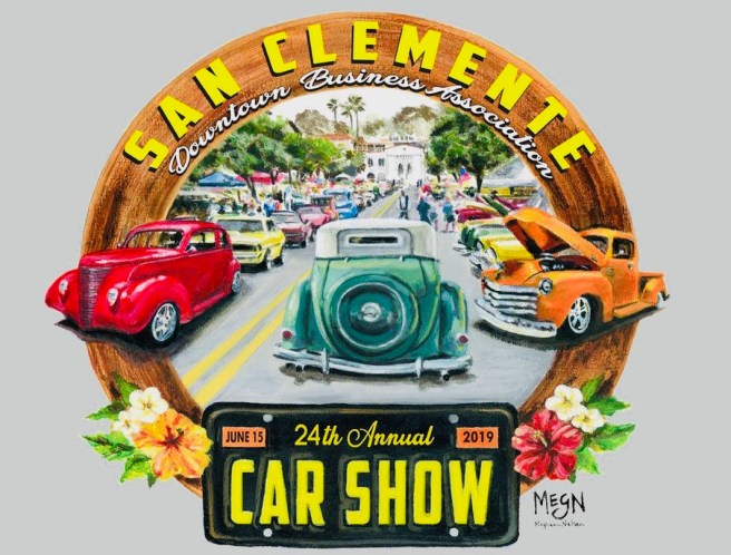 San Clemente Classic Car Show Saturday June 15 2019