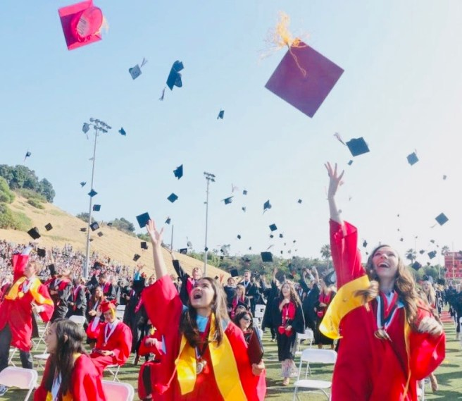 San Clemente High School Graduation Courtesy of SCHS Facebook Page