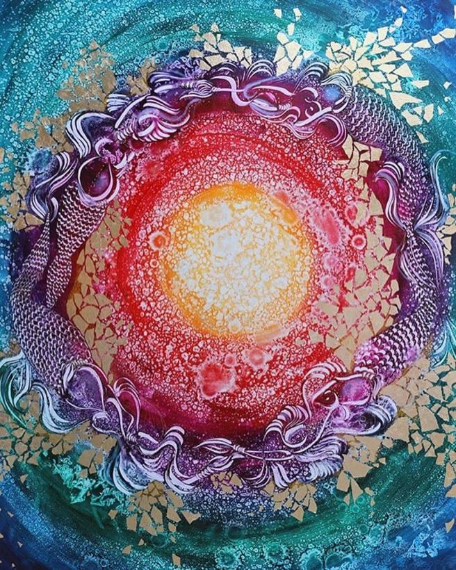 Artist Melissa Leslie Quinoses Featured at Laguna Beach Art A Fair Courtesy of Art-A-Fair.com